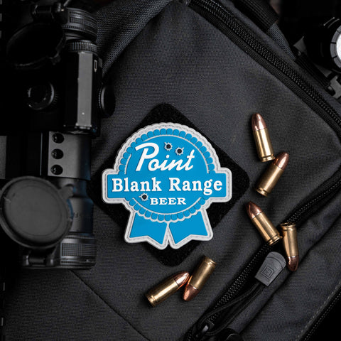 Point Blank Range Beer Patch