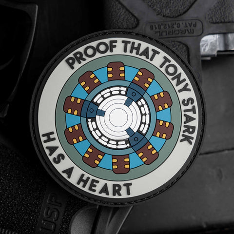 Proof That Tony Stark Has A Heart Patch
