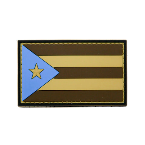 Puerto Rico Flag PVC Morale Patch