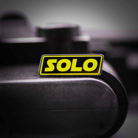 Solo Hard Enameld Star Wars Pin 1""