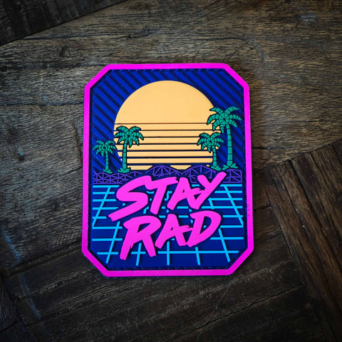 Stay Rad PVC Morale Patch