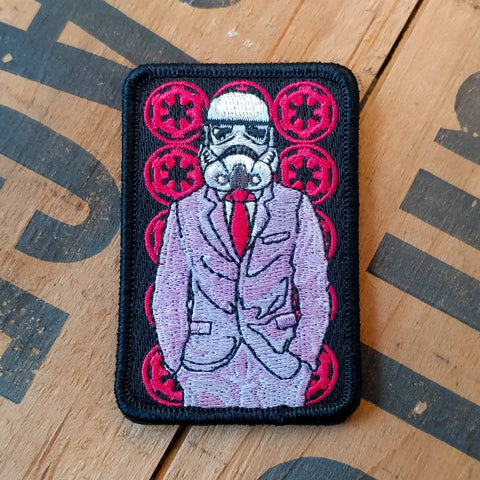 Fly As F*** Trooper Embroidered Patch