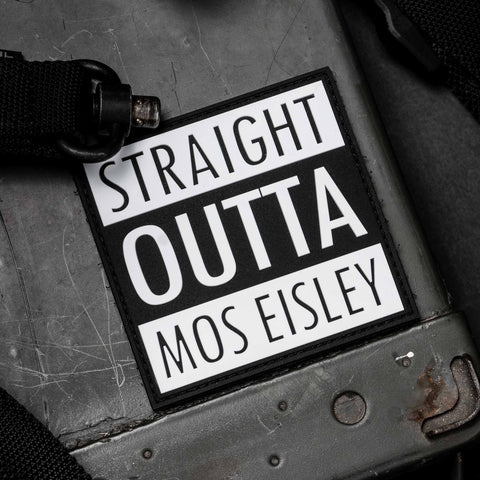 Straight Outta Mos Eisley Patch
