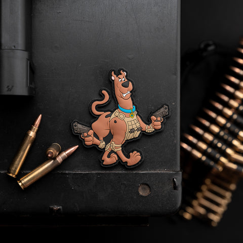 Tactical Scooby-Doo PVC Morale Patch
