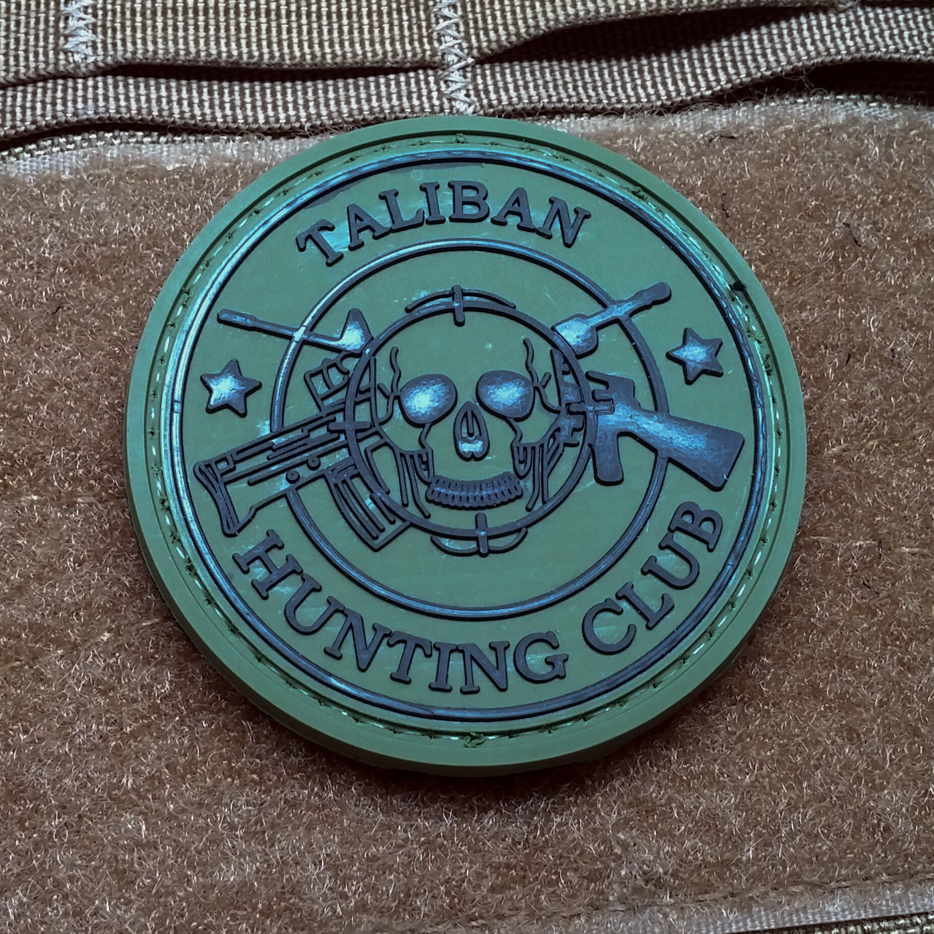 Taliban Hunting Club Original Morale Patch - NEO Tactical Gear