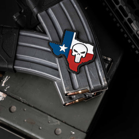 Texas Punisher Patch