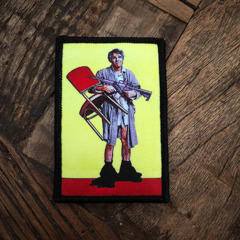 The Jerk Digital Print Morale Patch