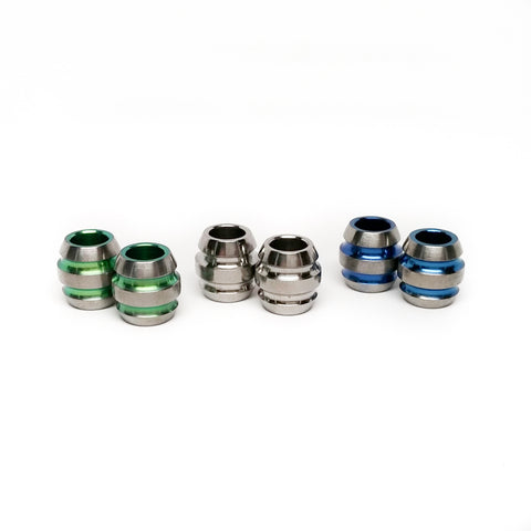Titanium Barrel Beads