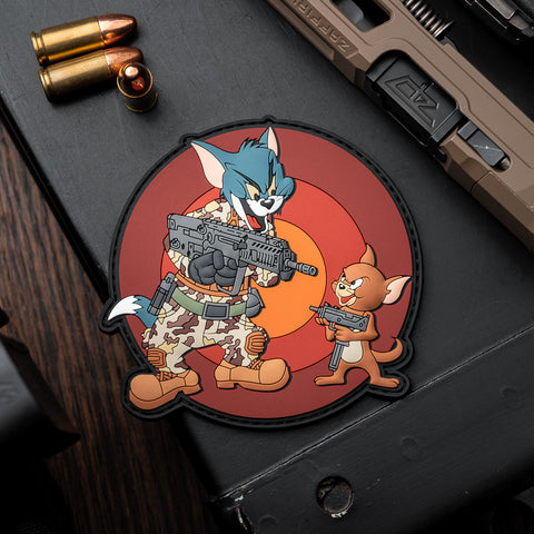 Tactical Tom & Jerry PVC Morale Patch