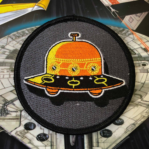 UFO Embroidered Badge