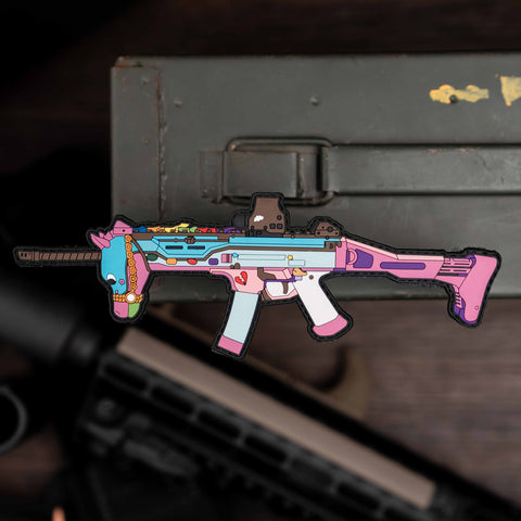 Unicorn Gun 3D PVC Morale Patch