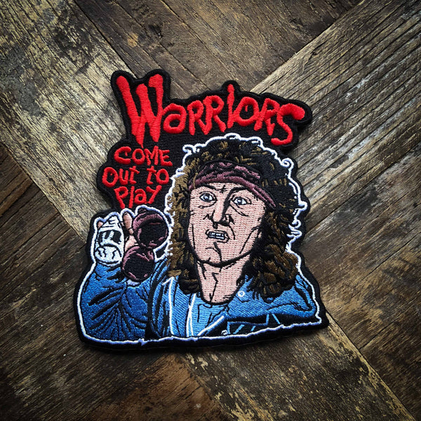 Warriors Come Out And Play Video Game: Warriors Come Out To Play Embroidered Patch & Sticker