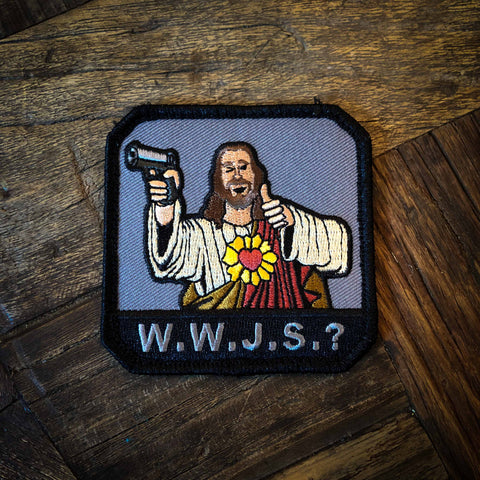 WWJS? Embroidered Morale Patch