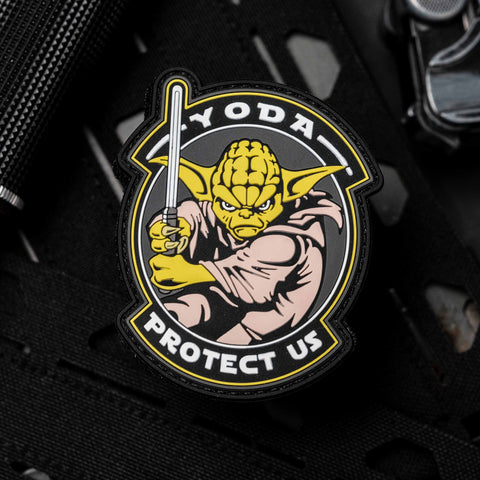 Yoda Protect Us Morale Patch