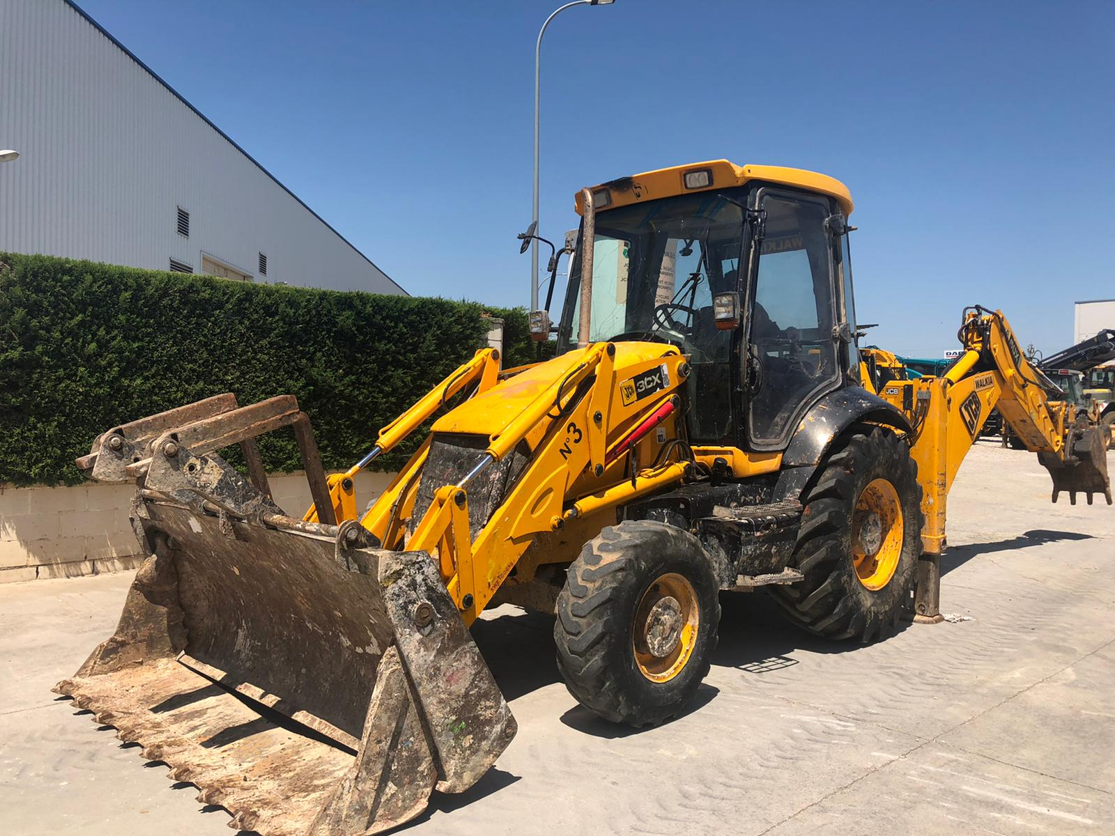 jcb 3cx mixta usada 2007