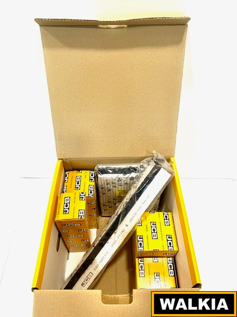 1C. Kit Filtros 1500 horas JCB 3CX con motor Tier 4i y 4F 75hp