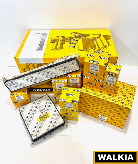 1B. Kit Filtros 1000 horas JCB 3CX con motor Tier 4i y 4F 75hp