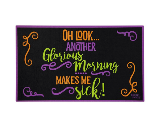Hocus Pocus Doormat - Decorations