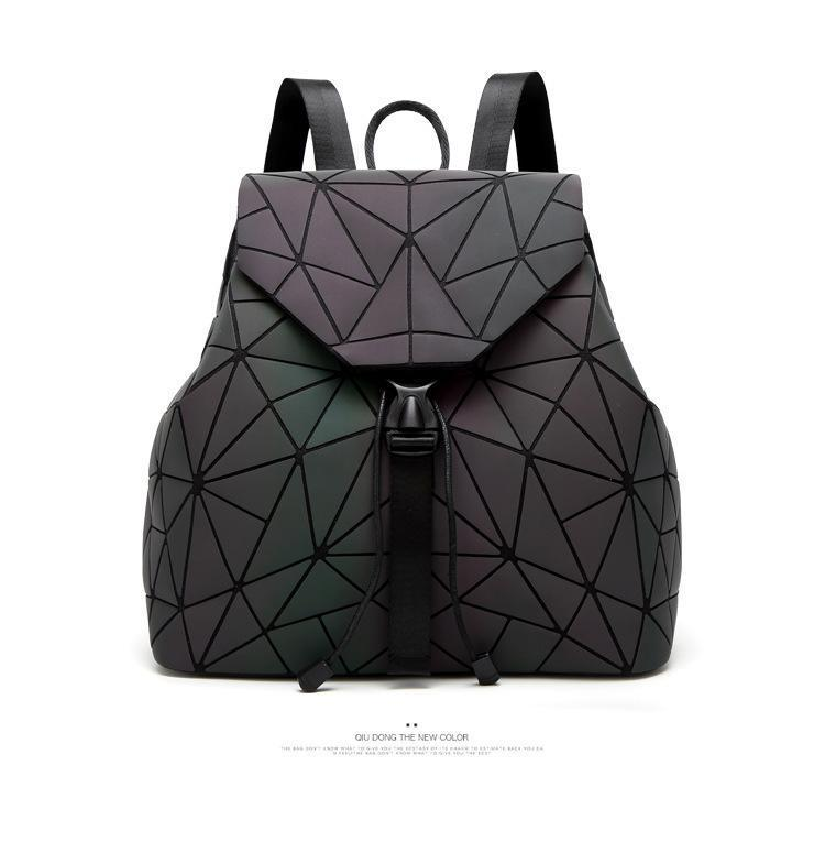 Luminous geometric backpack (Unisex)