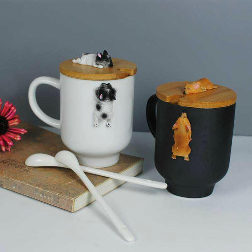 3D Corgi / French Bulldog Mugs