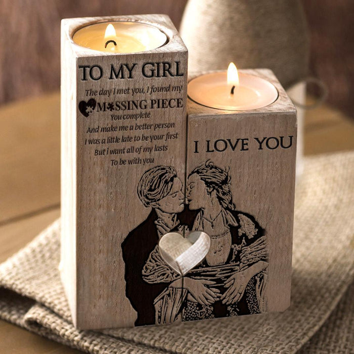 Limited Edition To My Girl - Candle Holder