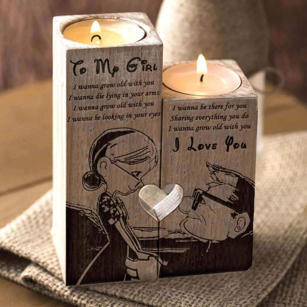 To My Girl - Candle Holder
