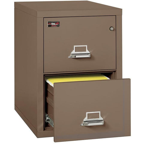 Fire King 2 Drawer 2 Hour Rated File Cabinet 2-1929-2