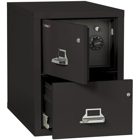 Fire King 2 Drawer Safe-In-A-File Fireproof Cabinet 2S1822-DDSSF