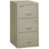 Image of Fire King 3 Drawer Safe-In-A-File Fireproof Cabinet 3-2131-C