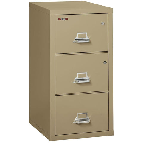 Fire King 3 Drawer Safe-In-A-File Fireproof Cabinet 3-2131-C