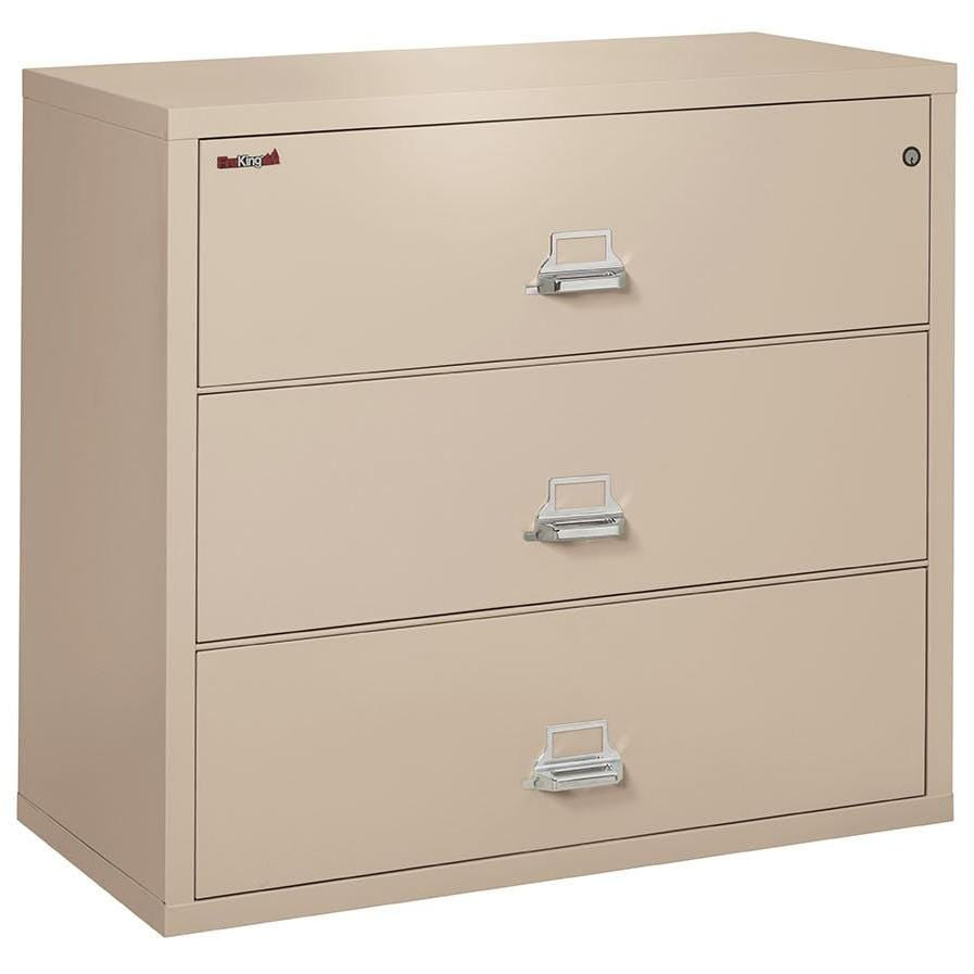 Fire King 3 Drawer Classic Lateral Fireproof File Cabinet 3-3122-C