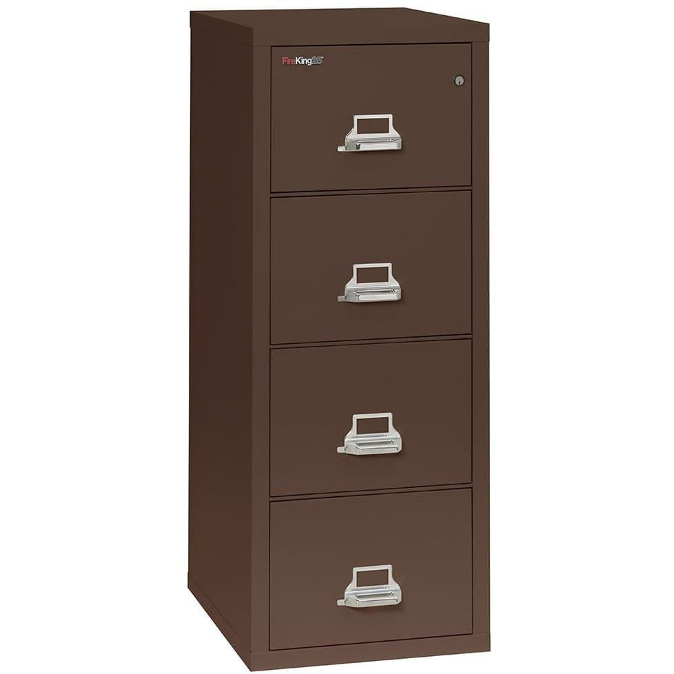 Fire King 4 Drawer Classic Vertical Fireproof File Cabinet 4-1825-C