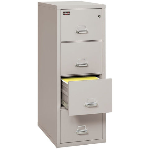 Fire King 4 Drawer 2 Hour Rated File Cabinet 4-1956-2
