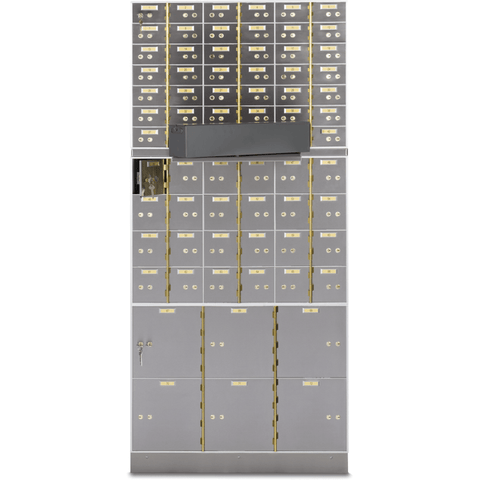 Socal Safe Bridgeman AX/AXN Series Modular Safe Deposit Box AX-42