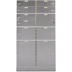 Socal Safe Bridgeman TLX Series Modular Teller Locker TLX-6