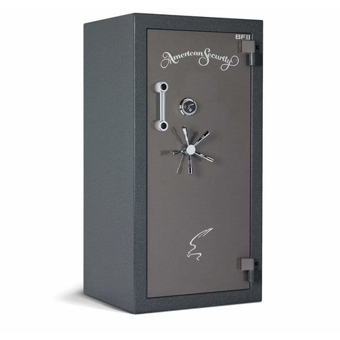 "Amsec 59.25"" x 30"" x 26"" High Security Burglary and Fire Resistant Gun Safe BFII6030"