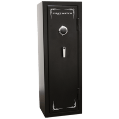 Image of First Watch 8 Gun Black Hills Series Mechanical Gun Safe BH50126080
