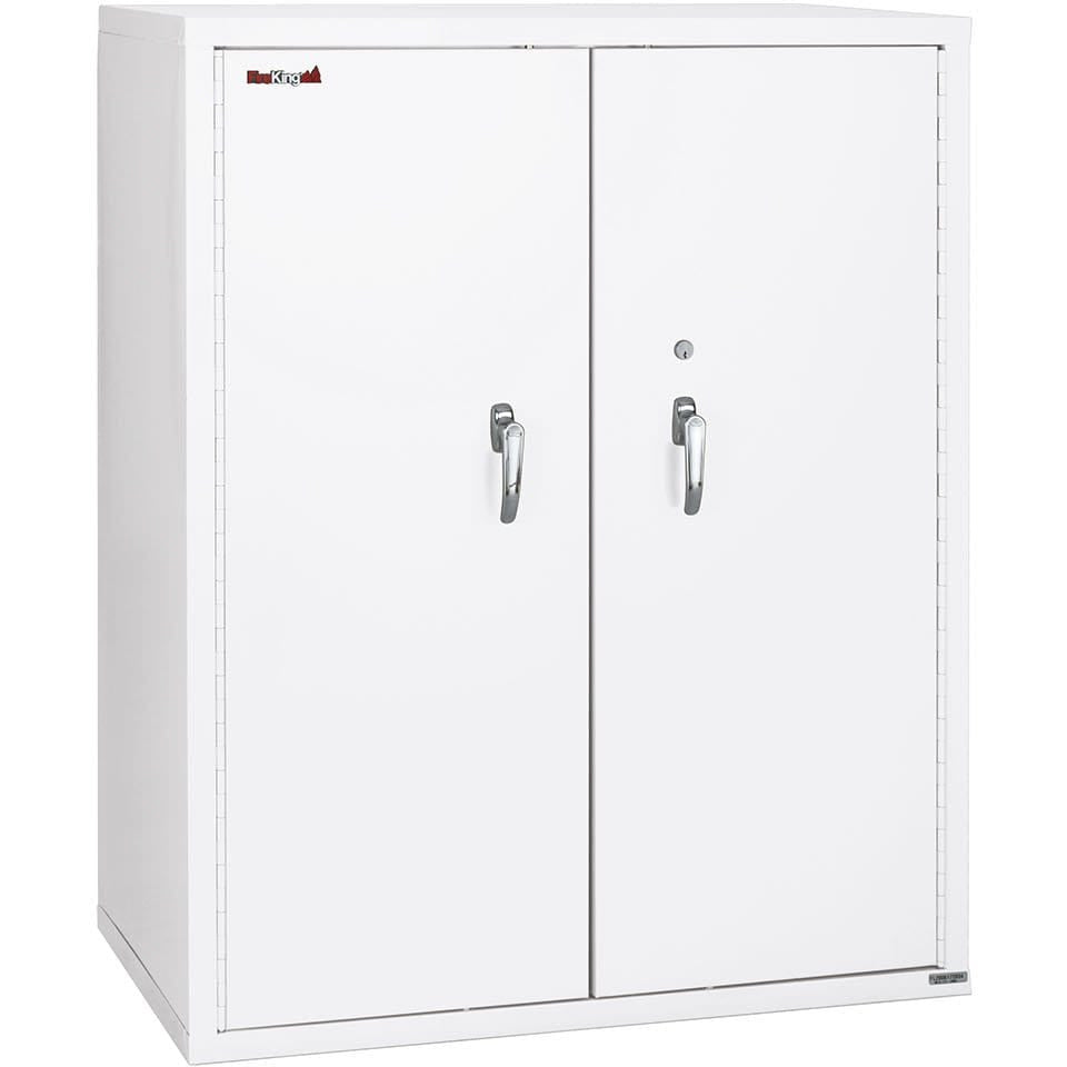 "Fire King 44"" Storage Fireproof File Cabinet with End Tab Filing CF4436-MD"