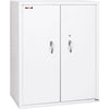 "Image of Fire King 44"" Storage Fireproof File Cabinet with End Tab Filing CF4436-MD"