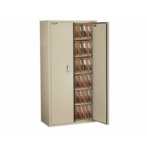 "Fire King 72"" Storage Fireproof File Cabinet with End Tab Filing CF7236-MD"