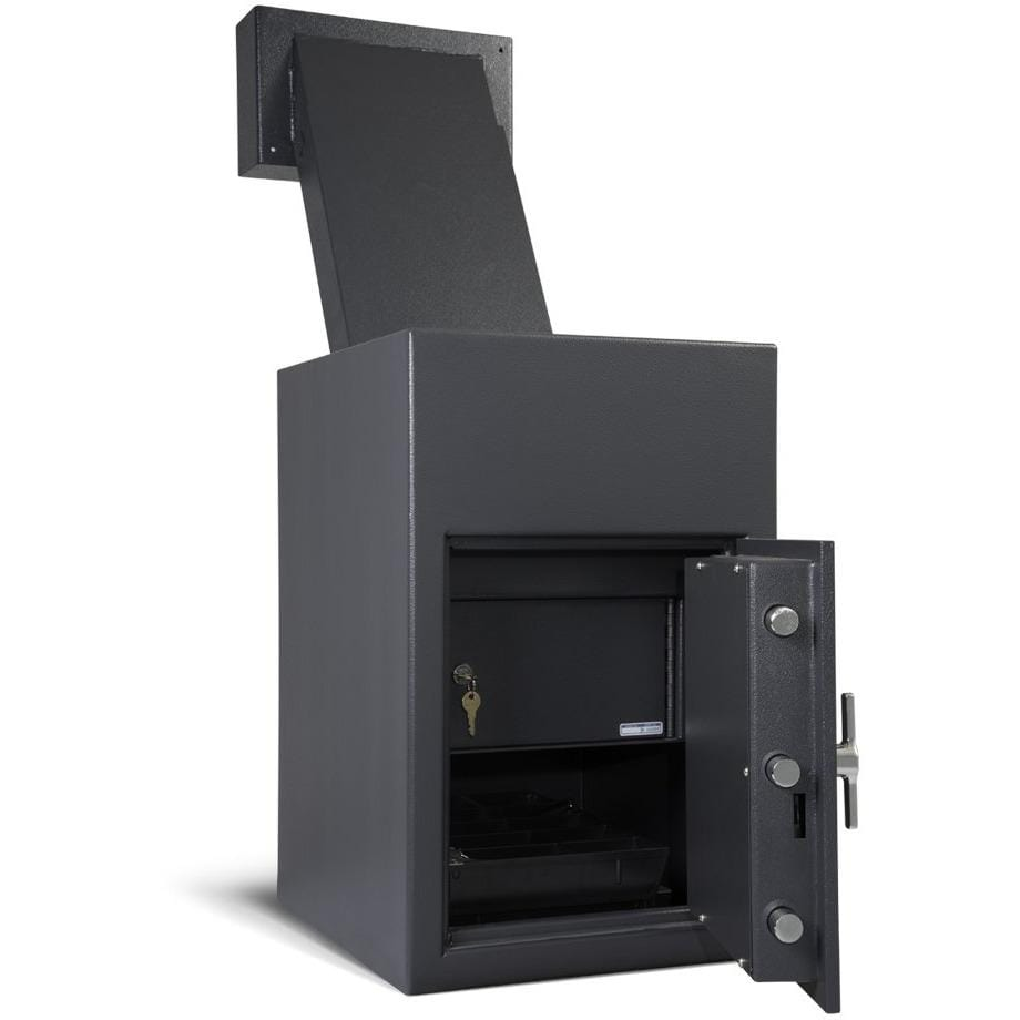 "Amsec 24.75"" x 15.75"" x 17"" Reverse Loading Till Storage Depository Business Safe DSR2516"