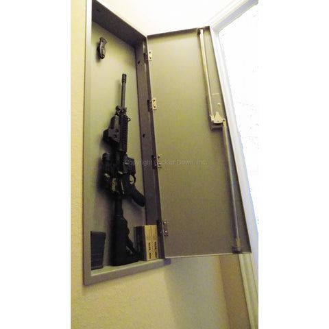 "Locker Down USA 12 Gauge 46"" Wall Gun Safe LD5001 ELK"