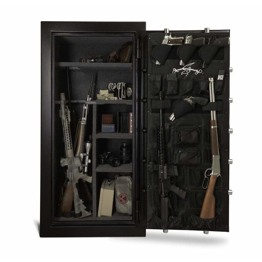 "Amsec 60 Minute Fire 54.5"" x 26.5"" x 19.875"" Burglary and Fire Resistant Gun Safe SF6030E5"