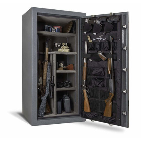 "Amsec 90 Minute Fire 53.5"" x 25.3125"" x 18.125"" Burglary and Fire Resistant Gun Safe NF6030E5"