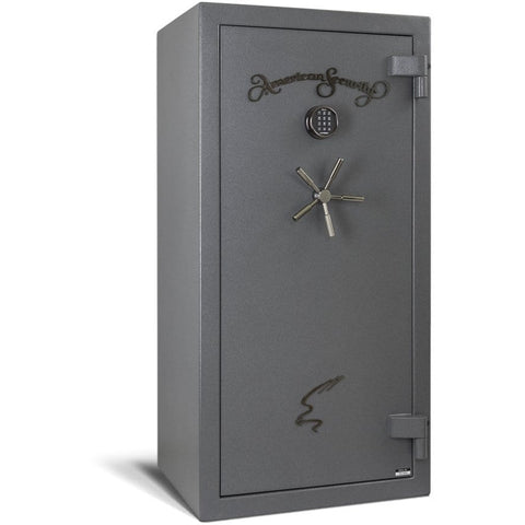 "Amsec 90 Minute Fire 53.5"" x 25.3125"" x 13.125"" Burglary and Fire Resistant Gun Safe NF6032E5"