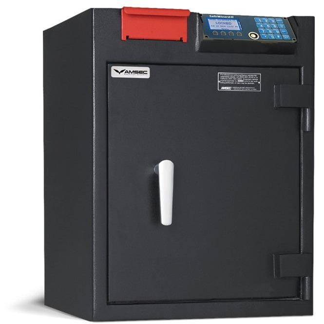 "Amsec 25-3/4"" x 19-3/4"" x 15-5/8"" Cash Management Depository Business Safe RMM2620SW-R"