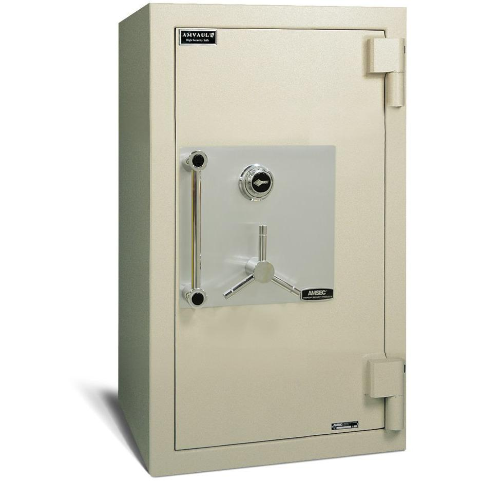 "Amsec TL-30 45"" x 24"" x 20"" Commercial Burglary and Fireproof Business Safe CF4524"