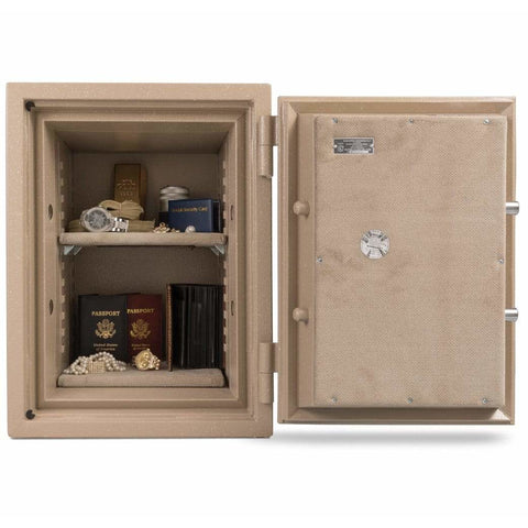 "Amsec UL Two Hour 18.5"" x 12.5"" x 12"" Burglary and Fireproof Home Safe UL1812"