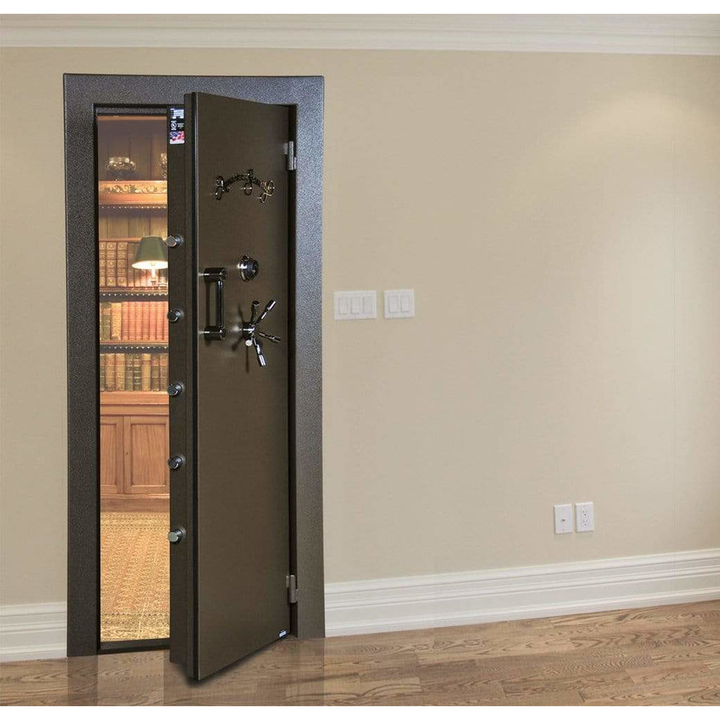 "Amsec 79.5"" x 35.5"" In-Swing Vault Door Gun Safe VD8036BFQIS"