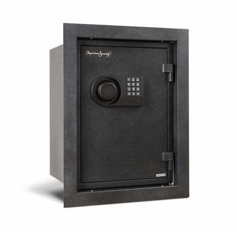 "Amsec 15.25"" x 9.75"" x 9.875"" Fireproof Wall Home Safe WFS149E5LP"